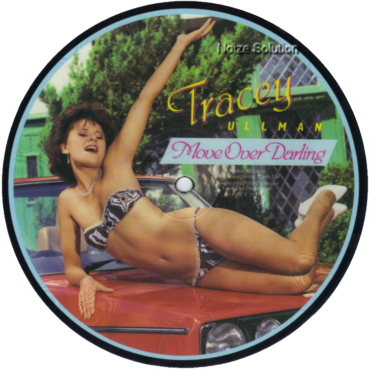 Tracey Ullman - Move Over Darling - Vinyl Picture Disc Record side 1