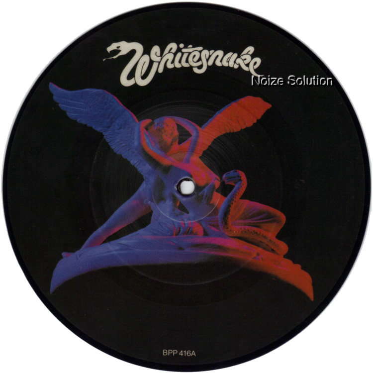 Whitesnake Here I Go Again 7 inch vinyl Picture Disc Record Side 1 WhitesnakeWhitesnake.
