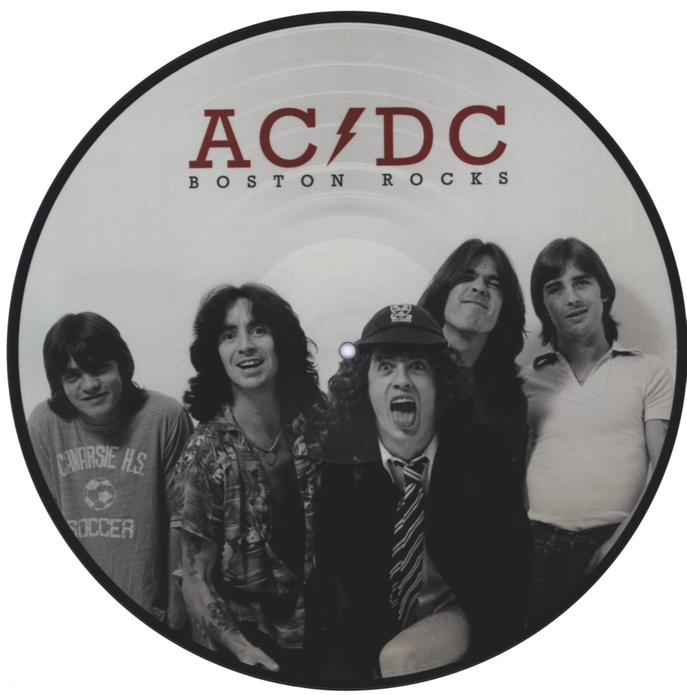 AC/DC - Boston Rocks vinyl LP Picture Disc Record Side 1 acdcacdc.