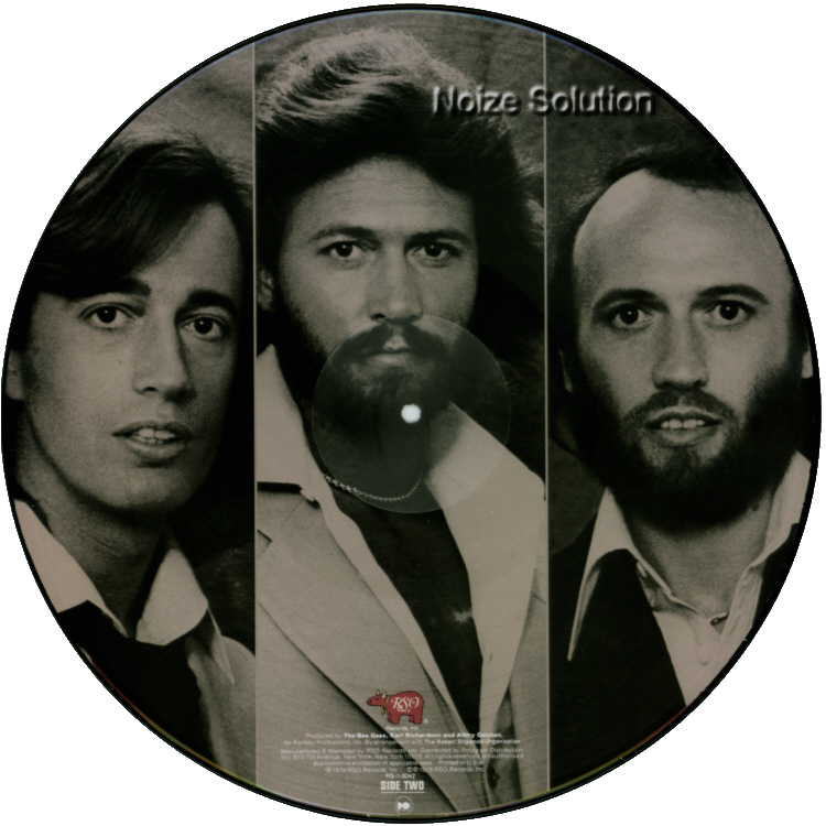 Bee Gees - Spirits having Flown, vinyl LP Picture Disc record side 2.