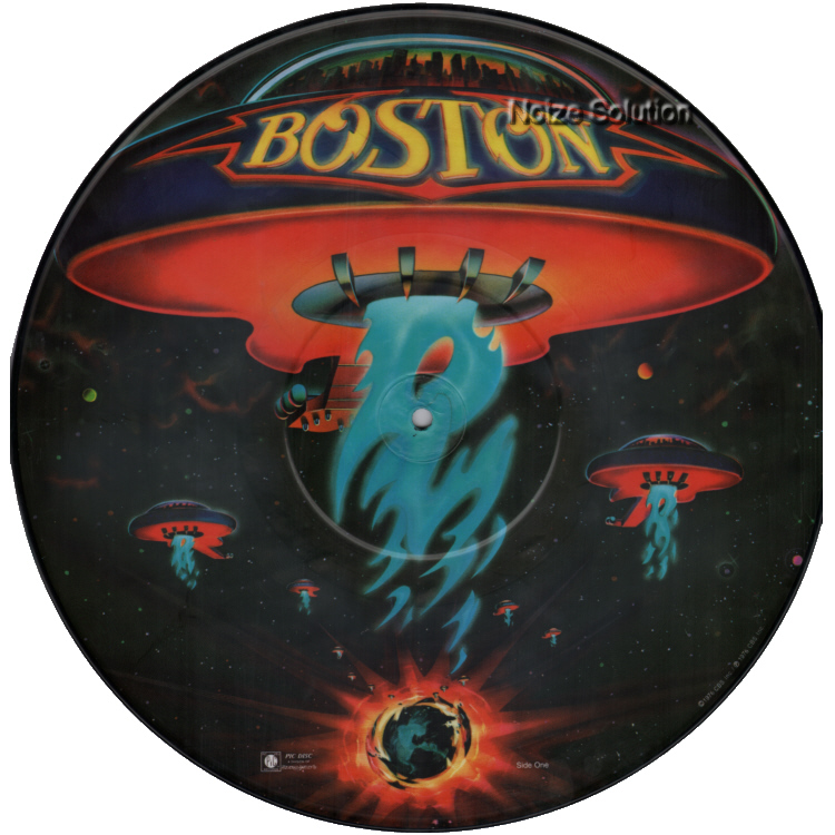 Boston - Boston vinyl LP Picture Disc Record Side 1.