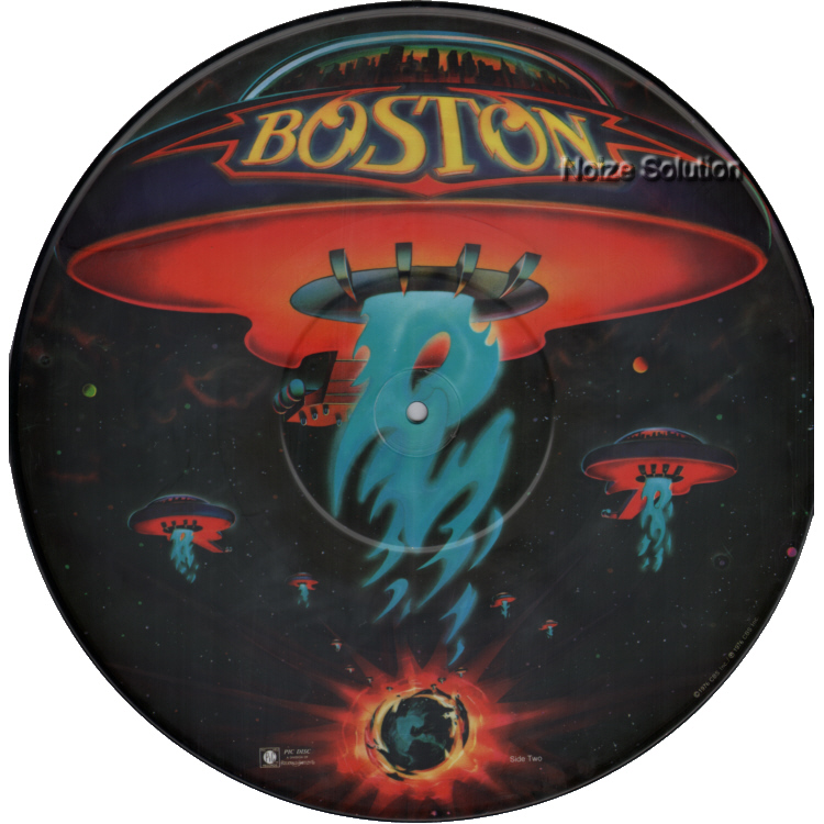 Boston - Boston vinyl LP Picture Disc Record Side 2.