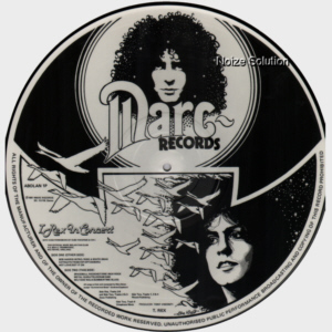 MARC BOLAN AND T.REX - In Concert, vinyl LP Picture Disc record side 2.