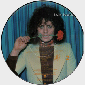 MARC BOLAN AND T.REX - You Scare Me To Death, vinyl LP Picture Disc record side 2.