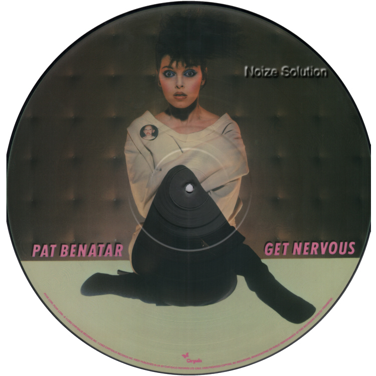 Pat Benatar - Get Nervous vinyl LP Picture Disc Record Side 1 PatBenatar.