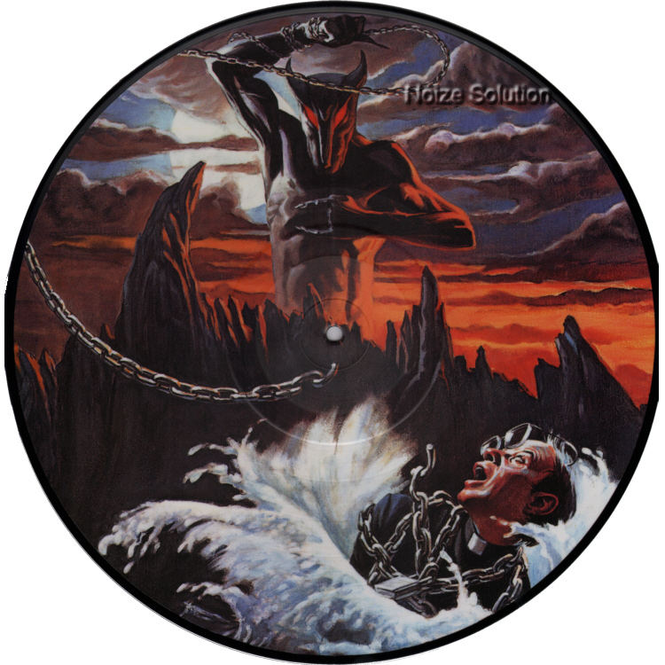 Dio - Holy Diver, vinyl LP Picture Disc record Side 1.