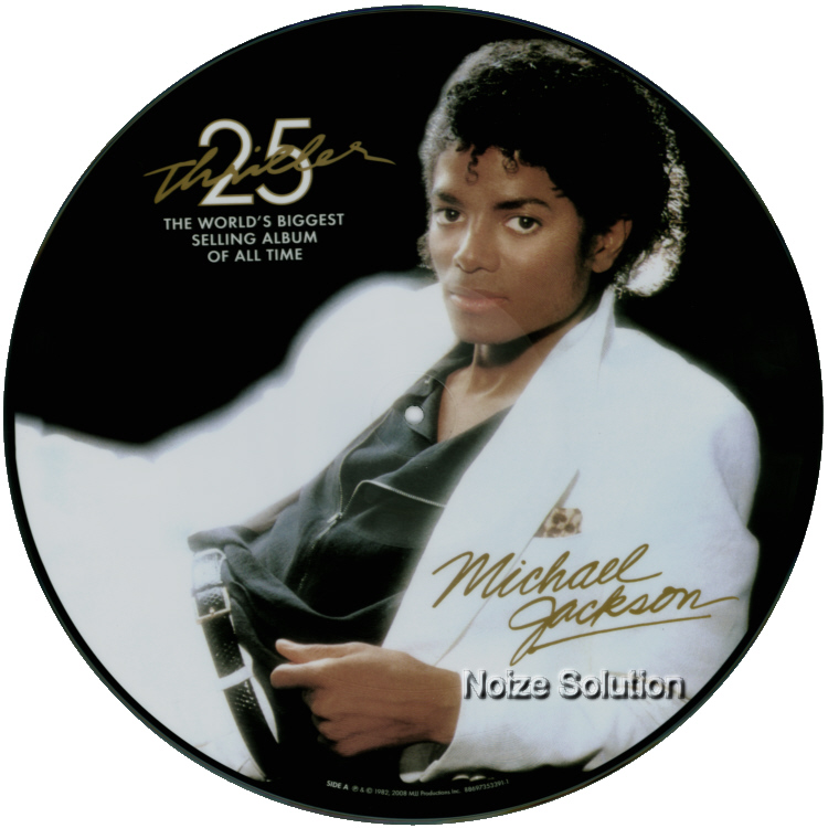 Michael Jackson - Thriller vinyl LP Picture Disc Record Side 1 MichaelJackson.