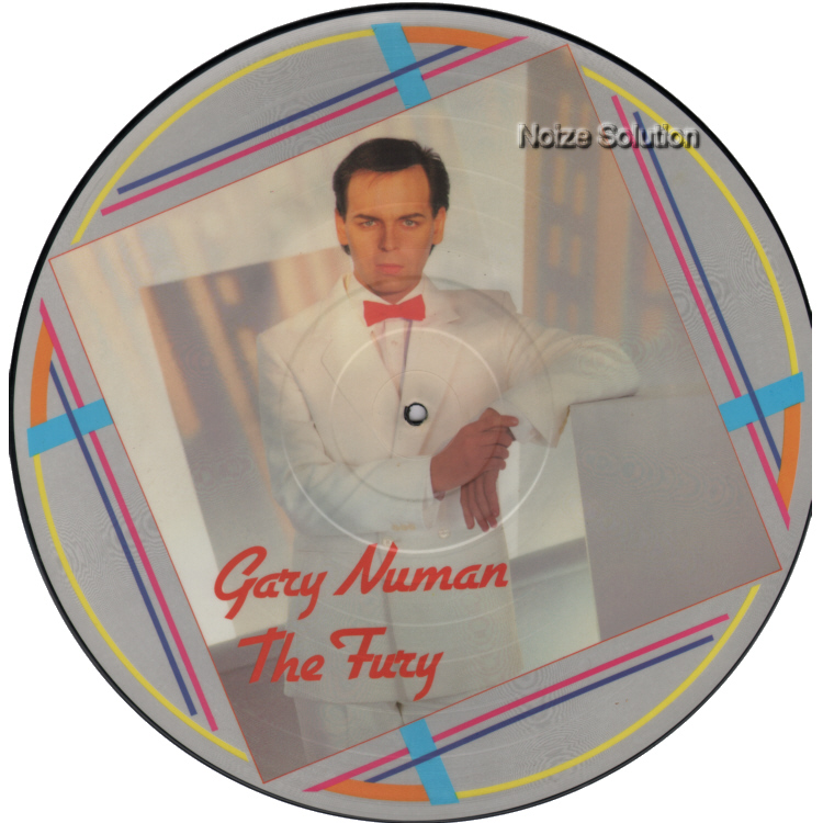 Gary Numan - The Fury vinyl LP Picture Disc Record Side 1 garynuman.