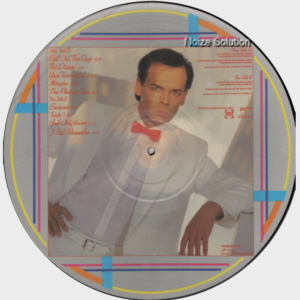 Gary Numan - The Fury, vinyl LP Picture Disc record Side 2.