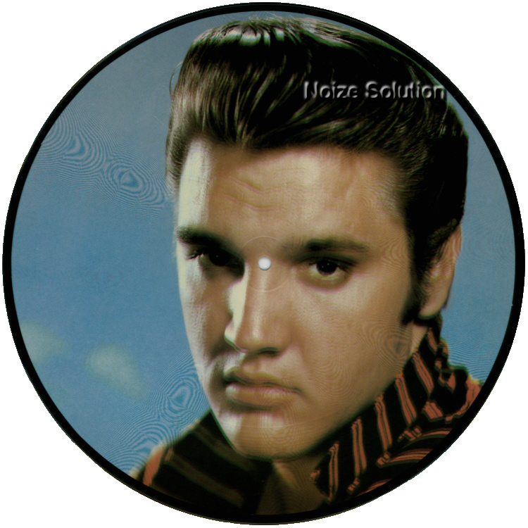 Elvis Presley - TEDDY BEAR vinyl LP Picture Disc Record Side 1.