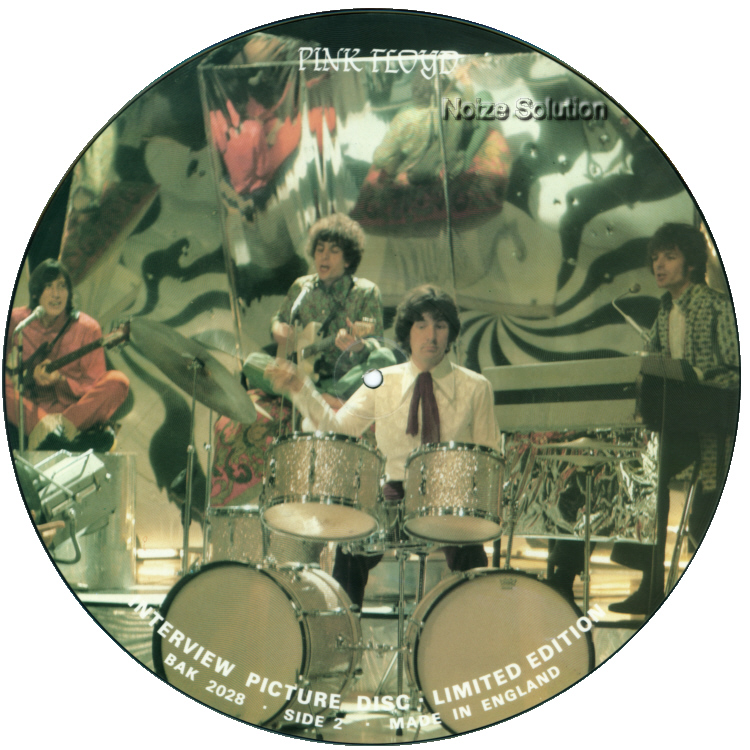 Pink Floyd - Interview vinyl LP Picture Disc Record Side 2 pinkfloyd.