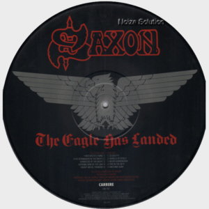 Saxon - The Eagle Has Landed Picture Disc LP side 2