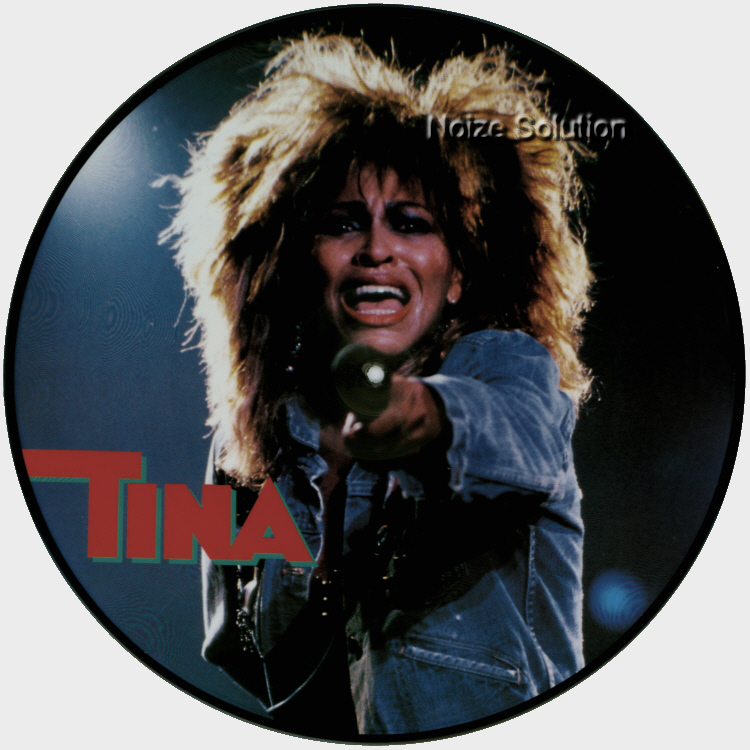 Tina Turner - Queen Of Rock And Roll vinyl LP Picture Disc Record Side 1.