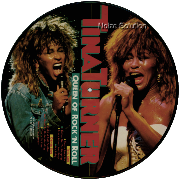 Tina Turner - Queen Of Rock And Roll vinyl LP Picture Disc Record Side 2 TinaTurner.