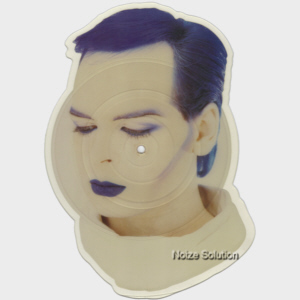 Gary Numan  - Berserker 7 inch shaped vinyl Picture Disc Record side 1.