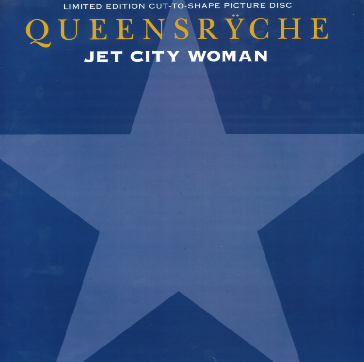 Queensryche - Jet City Woman Insert Front.