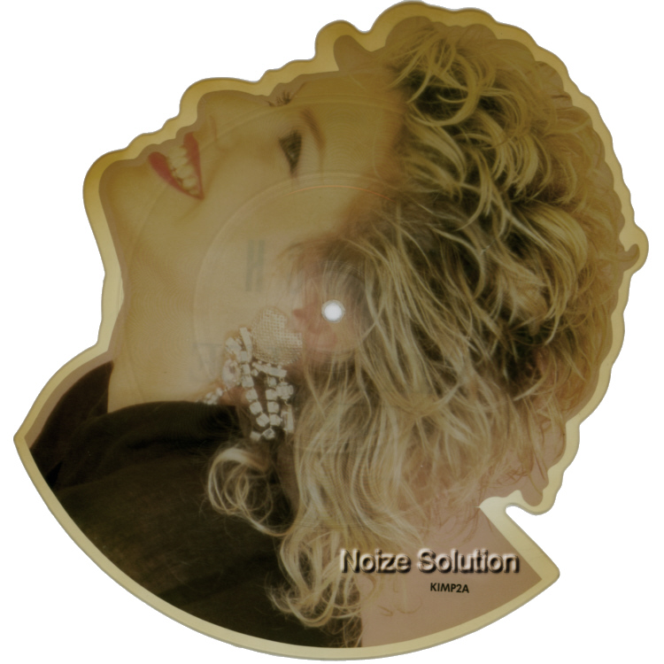 Kim Wilde The Touch shaped vinyl Picture Disc Record Side 1 KimWilde.