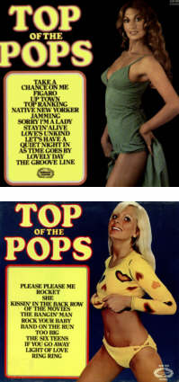 Top Of The Pops LP Sleeve SHM 780.
